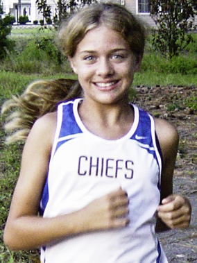 Benjamin Jenerette won the girls Junior Varsity Girl's Race competition with a 22:56 time in the girls cross country team Pee Dee Classic meet on Saturday at Francis Marion University in Florence, SC.